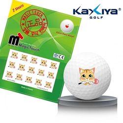 골프공 스티커 매직터치 고양이골프채
