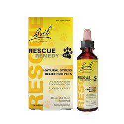Bach 오리지널 꽃 요법 반려동물용Rescue Remedy 20ml(0.7fl oz)