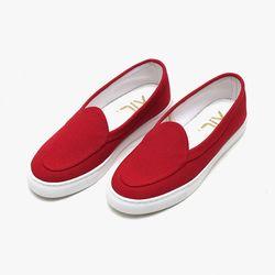 홍석천 신발 My_life Red Canvas