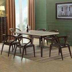 벨쥬아 대리석 주방 테이블 의자 6인 식탁세트