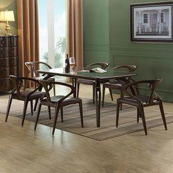 벨쥬아 원목 주방 테이블 의자 6인 식탁세트