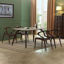 벨쥬아 대리석 주방 테이블 의자 4인 식탁세트