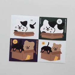 영이의숲 박스 프렌즈 리무버블 스티커