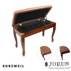 [영창] 어쿠스틱 일반 피아노 전용 의자(월넛체리)