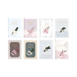 3500 리얼플라워 축하카드