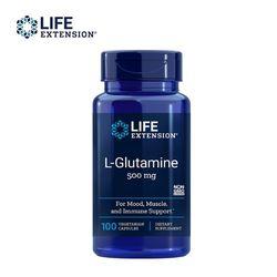 라이프익스텐션 L-glutamine L-글루타민 500mg 100c
