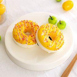 딸기 크런치 링 도넛 모형 1P