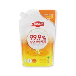애경 랩신 항균 주방세제 레몬 시트러스향 리필 1.2L