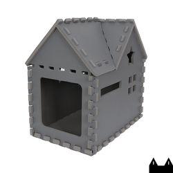스타캣 퍼즐 캣하우스 - 루프형다크그레이