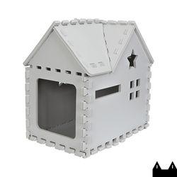 스타캣 퍼즐 캣하우스 - 루프형라이트그레이
