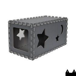 스타캣 퍼즐 캣하우스 - 터널형다크그레이