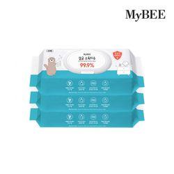 마이비 살균소독티슈 캡형 (60매)x3팩