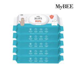 마이비 살균소독티슈 캡형 (60매)x5팩