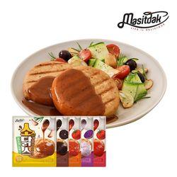 [무료배송] 소스 닭가슴살 스테이크 혼합구성 150gx10팩(1.5kg)