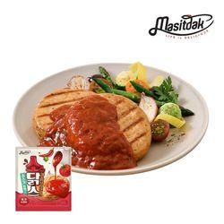 [무료배송] 소스 닭가슴살 스테이크 매콤토마토 150gx10팩(1.5kg)