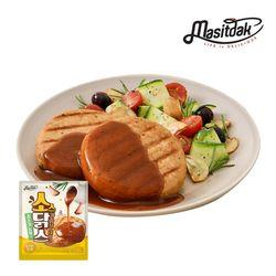 [무료배송] 소스 닭가슴살 스테이크 로스트갈릭 150gx10팩(1.5kg)