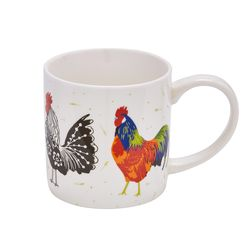 루스터 닭 머그 컵