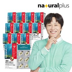내츄럴플러스 식물성 알티지 오메가3 30캡슐 12박스