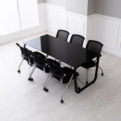 사무실 회의용 테이블 책상의자세트 데임B 회의