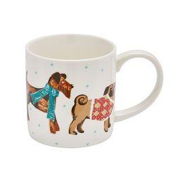 하운드도그 강아지 머그 컵