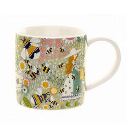 꽃과벌 머그 컵