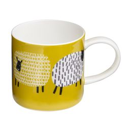 도티쉽 양 머그 컵 카페컵
