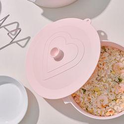 퀴진드마망 실리콘 냄비 뚜껑(22cm)