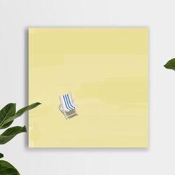 여름날 캔버스 그림 액자 거실 인테리어(30x30cm)