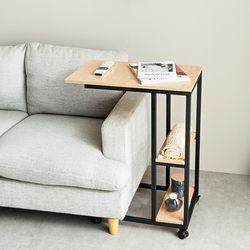 1인책상 이동식 멀티 테이블 럭스 간이 사이드탁자 SI137