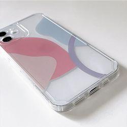 무드 오브젝트 케이스 아이폰12 11 콜라주 디자인