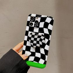체커보드 스마트톡 케이스 체크판 아이폰12 11