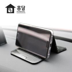 홈달 차량용 3단 논슬립패드 핸드폰거치대 휴대폰 접착홀더
