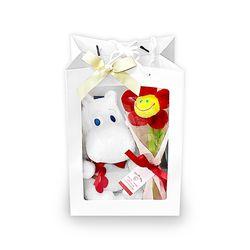 무민 인형 20cm 꽃다발 선물 패키지