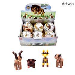 2000 씸스 동물 합체 블럭 BOX(6)