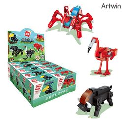 1000 씸스 야생 동물 계몽 블럭 BOX(10)