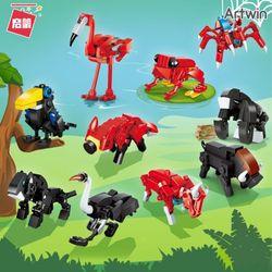 1000 씸스 야생 동물 계몽 블럭