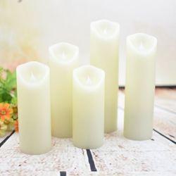 양초 촛불 무드등 수면등 감성조명 취침등 5개 세트 MR-05