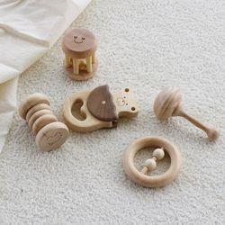우드 사운드놀이세트 출산선물 원목 장난감