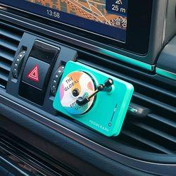턴테이블 차량용 방향제 자동차 디퓨저 MR-17
