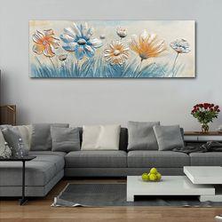 AL1072346 들꽃 유화그림액자 (대형)