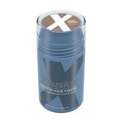 [한정수량/국내배송/무료배송] XFusion Keratin Hair Fibers 라이트브라운 0.53oz