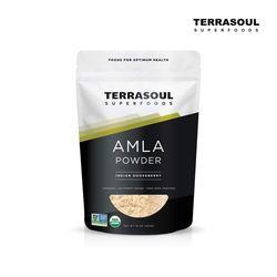 [한정수량/국내배송/무료배송] Terrasoul Superfoods 암라 AMLA 가루분말 454g