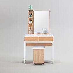 피킷 스틸 수납 화장대 700 거울 + 의자 포함 (착불)