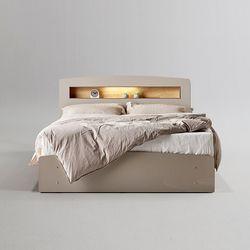 바움 모던 LED 수납형 슈퍼싱글 침대 SS (착불)