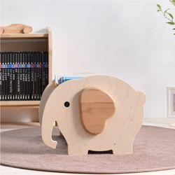 키즈 원목책꽂이 아기코끼리 토토