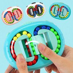 피젯 패드 회전 매직 빈 큐브 퍼즐 핑거 토이 장난감