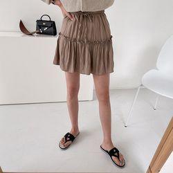 Naomi Cancan Mini Skirt - 치마바지