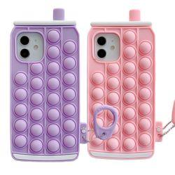 아이폰 x max se2 7 8 캔모양 버블 젤리 팝잇 케이스