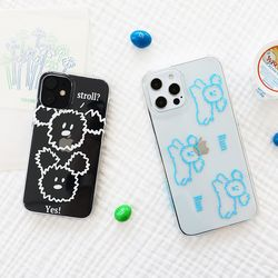 Little PaPer 클리어 케이스 for iPhone12 series
