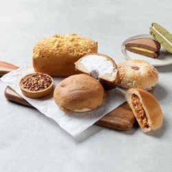 천년누리 전주 빵 비빔빵 밤식빵 수제초코파이 단팥빵 빵모음